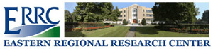 Eastern Regional Research Center Logo showing photo of main building